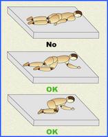 higiene postural al acostarse